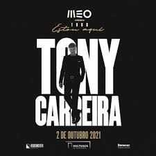 2 Bilhetes Primeira Plateia - Tony Carreira - Guimarães
