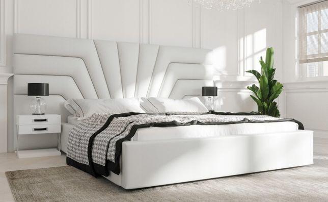 Łóżko tapicerowane nowoczesne Kalifornia 160 x 200