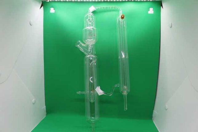 Peça de Laboratório Antigo Funil de Equalização em Laboratório (RARO)