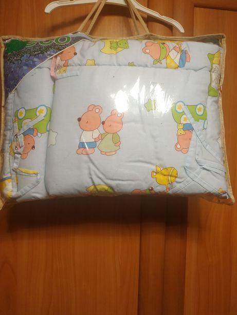 Бортик защита в кроватку