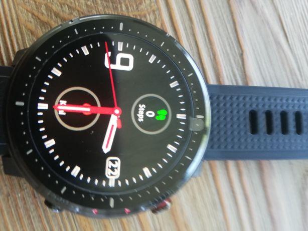 Smartwatch zegarek sportowy nowy komplet