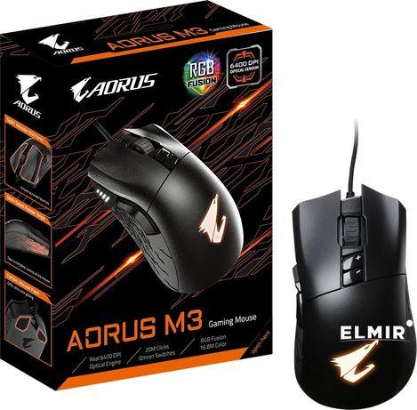 Миша дротова ігрова Gigabyte Aorus M3