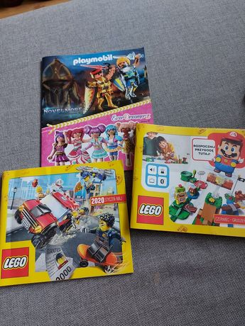 Katalog klocki LEGO DUPLO PLAYMOBIL 2020
