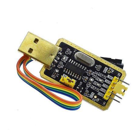 Конвертер адаптер USB в TTL (RS232) CH340 CH340G USB/UART CTS RTS