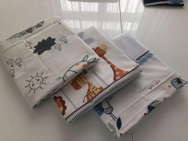 OKAZJA Pościel dla dziecka 120x80,poduszka60x40, 3 komplety,stan ideal