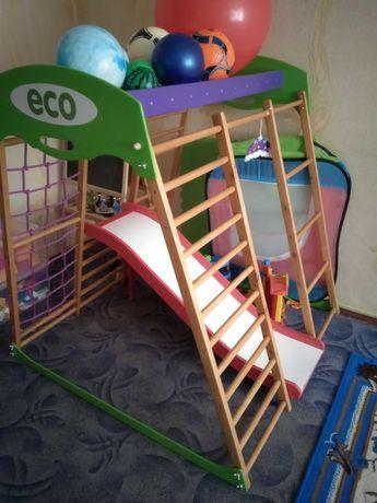 Продам срочно Детский спортивный комплекс для квартиры Карамелька мини