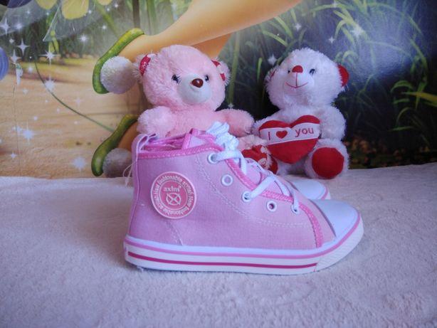 Кеды розовые для девочки Axim детские 29р
