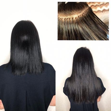 Наращивание волос 800 грн