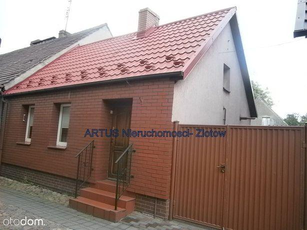 Mały domek na Starym Mieście w Złotowie