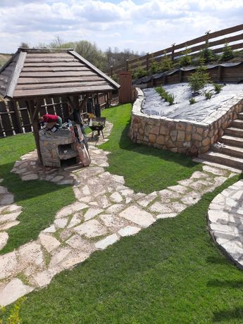 ogrodzenia elewacje schody i ścieżki z kamienia naturalnego