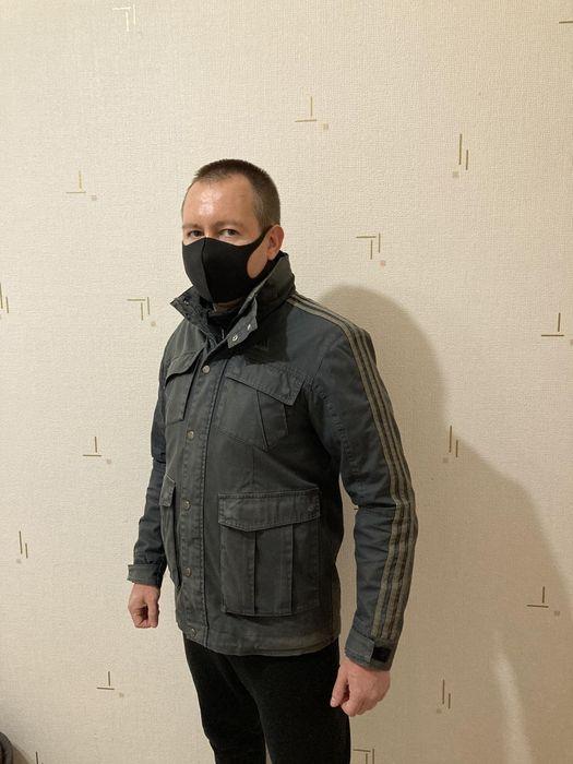 Adidas куртка джинсовая как nike reebok puma jack wolfskin mammut Бровары - изображение 1