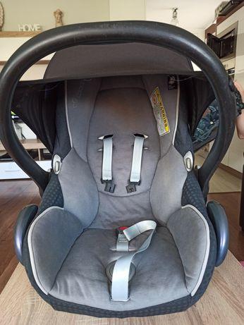 Maxi Cosi Fotelik (nosidełko) + adaptery i wkładka dla niemowlaka