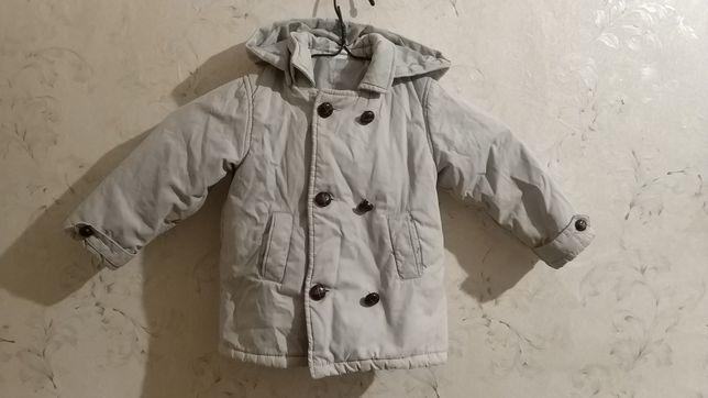 Пальто с капюшоном весна очень для малыша HM