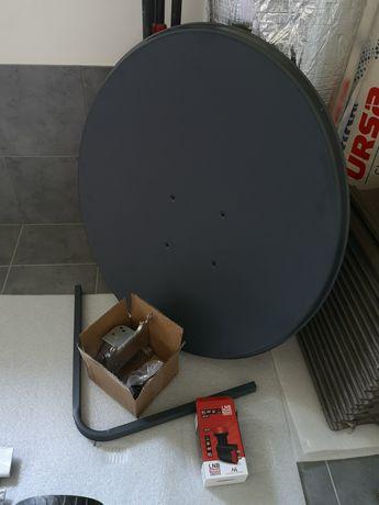 Antena satelitarna 90 wraz z konwerterem
