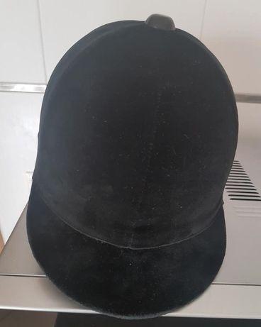 Capacete de montar (toque) Champion (original).Tamanho:7 1/8 (58cm)