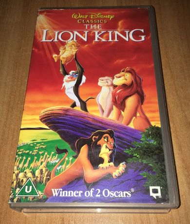 VHS - The Lion King/Король Лев/Disney/Sega/Nintendo/Видеокассета