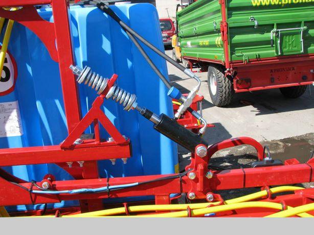 Stabilizacja hydrauliczna belki opryskiwacza Biardzki, siłownik stabil