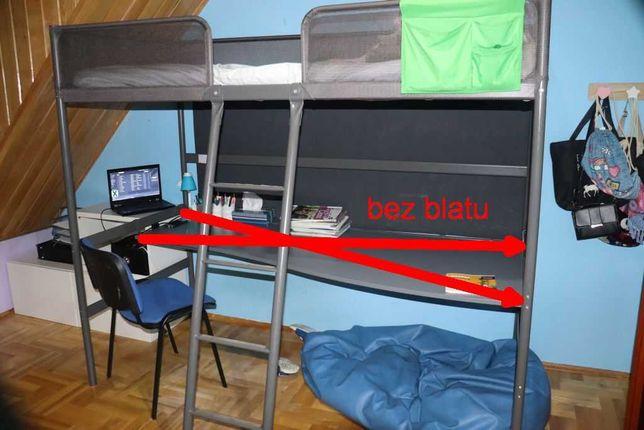 Ikea Svarta bez biurka , srebrny90x200 cm Zdemontowane!