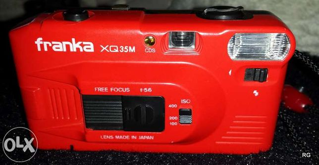Máquina fotográfica de rolo
