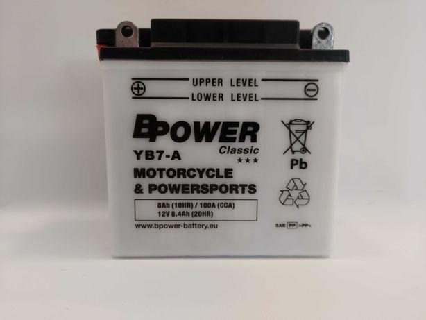Akumulator 12V BPower YB7-A YB-7L-B 8Ah 100A