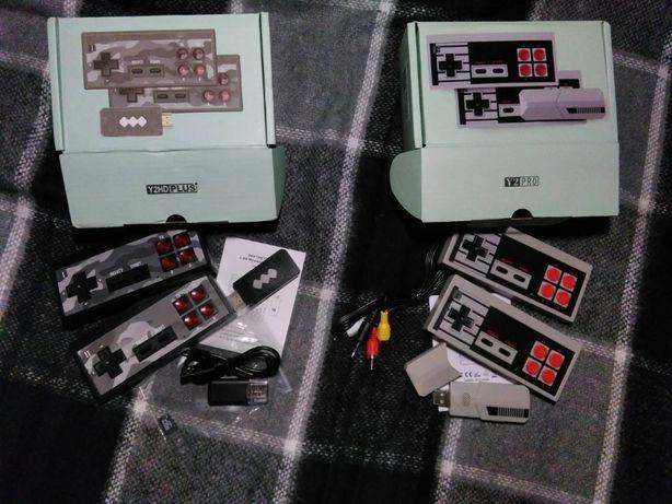 Игровая приставка Data Frog Y2S HD PLUS и Y2 Pro денди dendy консоль