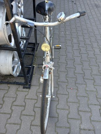 Rower damka z przezutkami