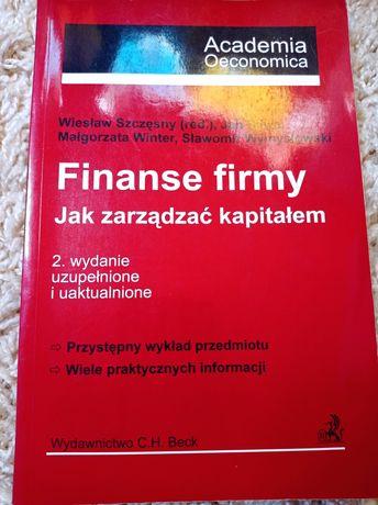 Finanse firmy - Wiesław Szczęsny