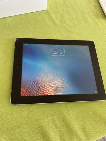 IPad Retina - Wi-Fi 4G 32GB Black