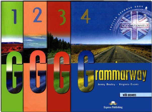 Grammarway 1,2,3,4 металева пружина, ламінація