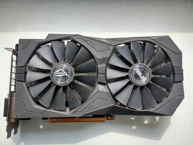 Видеокарта Asus Radeon RX470 ROG Strix