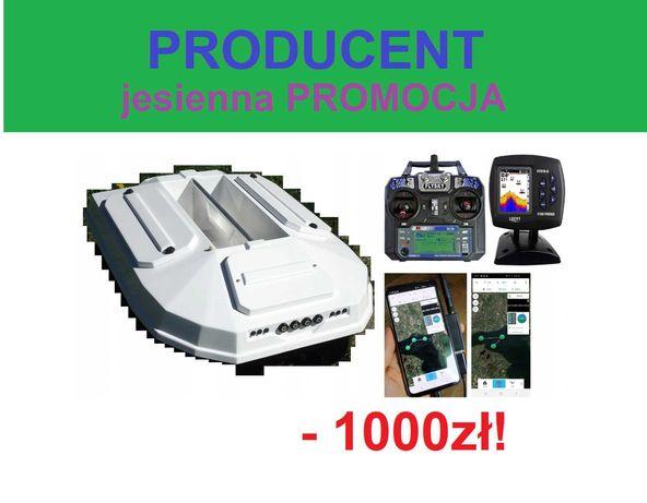 promocja ŁÓDKA ZANĘTOWA PREMIUM na 7kg Echosonda + GPS  / Producent