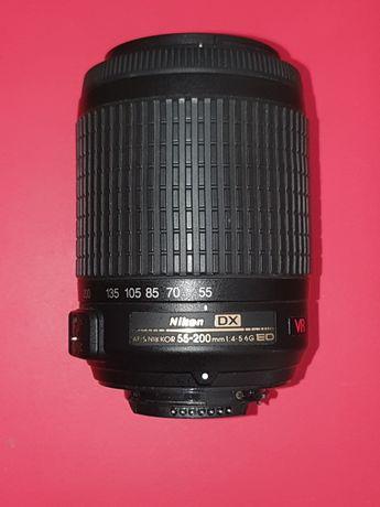 Objectiva AFS Nikkor 55-200 DX - Nikon