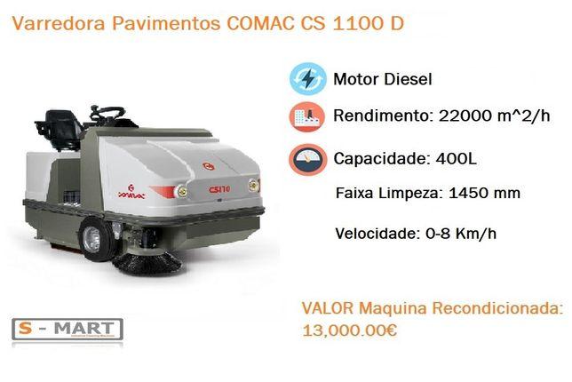 Varredora Pavimentos Diesel Comac CS 1100 D