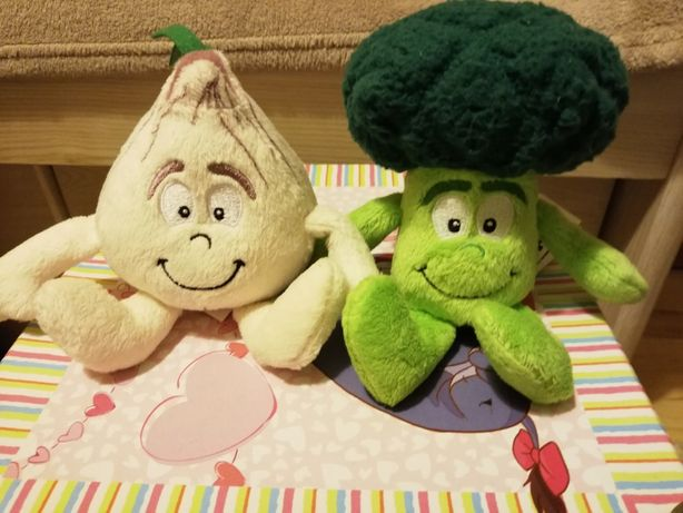 Świeżaki czosnek i brokułek