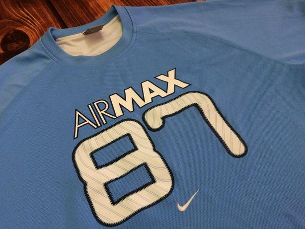 NIKE Air Max 87 oryginalna koszulka vintage sportowa stan BDB