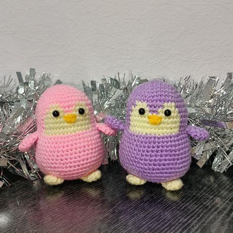 Милашки пингвинчики ручной работы