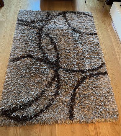 Carpete Bege/Castanha - 160x230cm