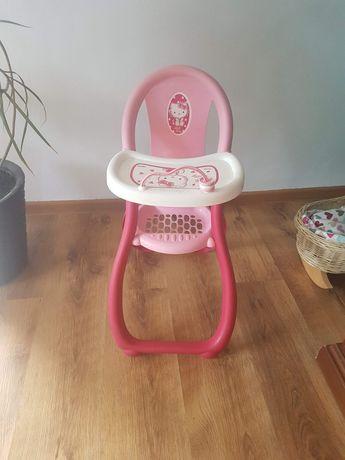 Krzesełko do karmienia i kołyska dla lalek