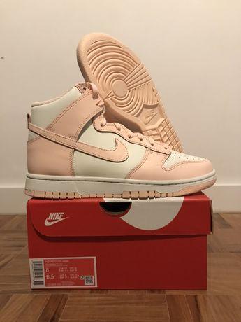 Nike dunk high crimson tint