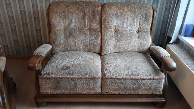Sofa dwuosobowa + fotel