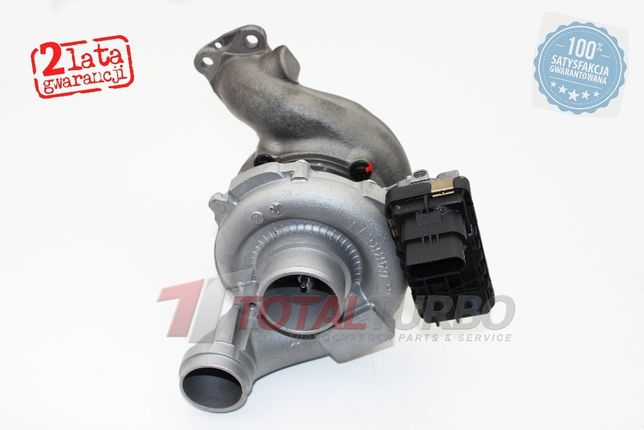 Turbosprężarka turbina Mercedes R-Klasse 320 280 CDI Sprinter II 3.0