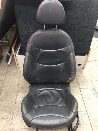Fotel kierowcy MINI Cooper R50 skóra