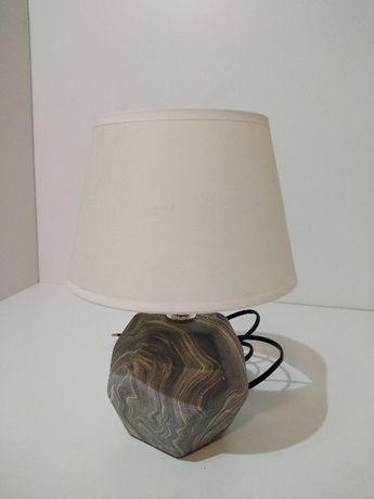 OBI Lampa stołowa szary kamień Obniżka z 54,99zł na 39,98zł
