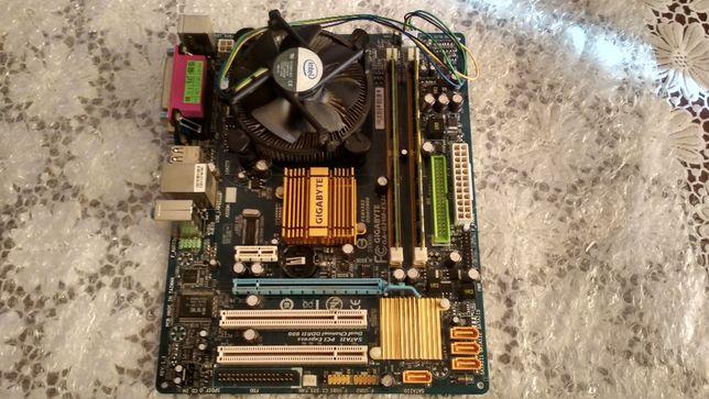 Gigabyte GA-945GCMX-S2 + Intel E7500 + 4GB Ram