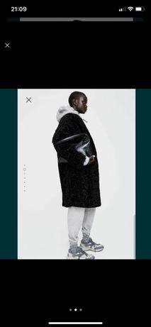 Пальто zara шубка