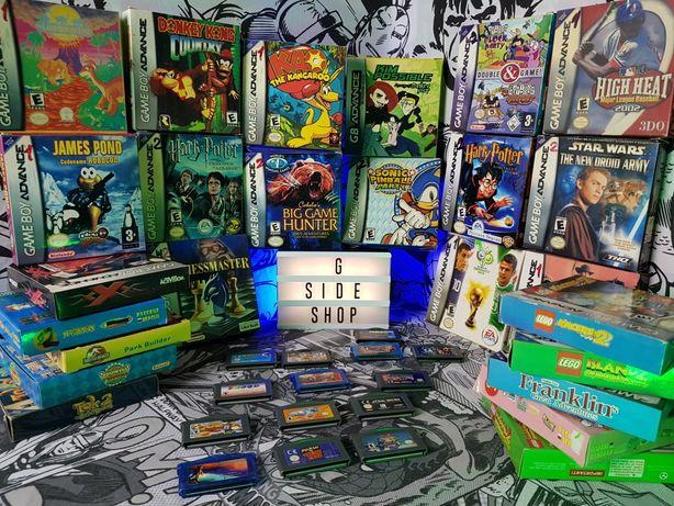 Картриджи GBA, Game boy advance, геймбой