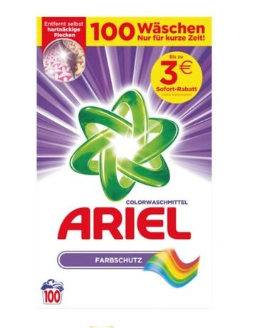 Ariel Kolor Proszek do prania Color 100 prań DE