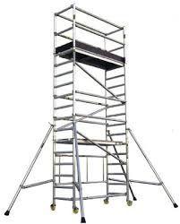 Aluguer Andaime móvel em aluminio alt.7,8 m a partir de 30 € / dia