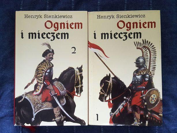 Książka - Ogniem i mieczem - tom 1 i 2 - Świat książki