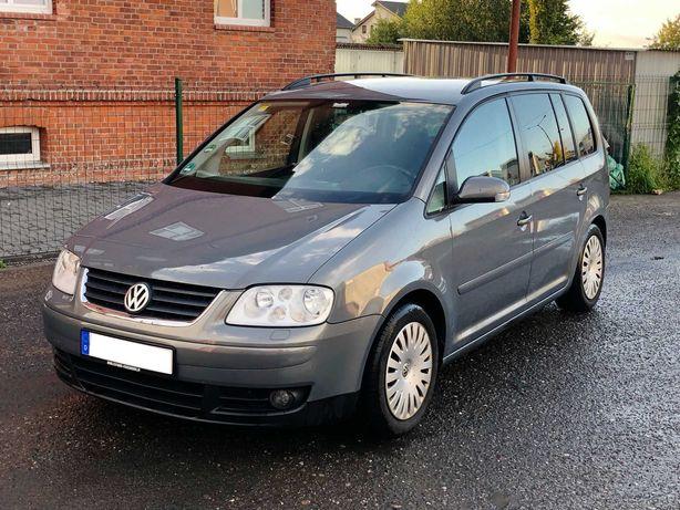 VW TOURAN 1.6 benzyna - 7 osobowy - 193.274tyś - z Niemiec